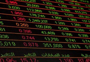 株価のボード