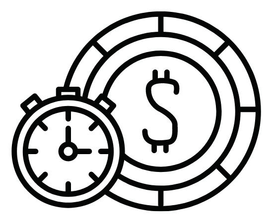 時計とドル